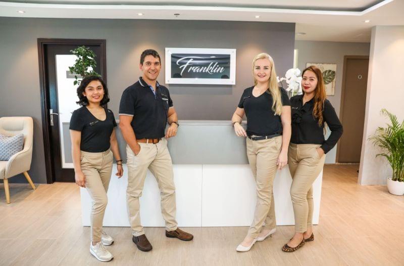 Franklin Chiropractic Dubai Staff